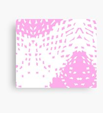 Abstract Pastel Soft Pink Background Canvas Print