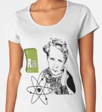 Madame Marie Curie science T-shirts and other gifts Women's Premium T-Shirt