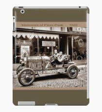 PIKES PEAK : Vintage Memories Advertising Print iPad Case/Skin