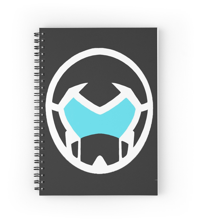 Voltron legendary defender shiro helmet spiral notebooks by voltron legendary defender shiro helmet by jessica wise biocorpaavc