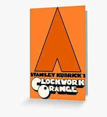 A Clockwork Orange I Greeting Card