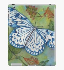 Blithesome Blue China Butterfly iPad Case/Skin