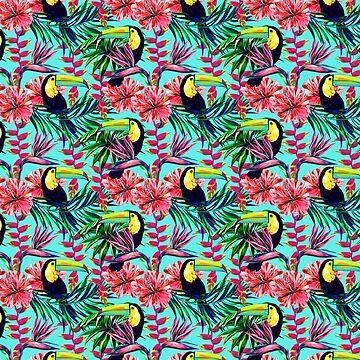 Toucan Jungle by DCstore