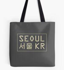 Seoul, South Korea Tote Bag