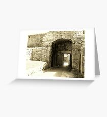 fortification Greeting Card