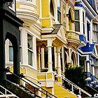 San Francisco Neighborhood by Barbara  Brown
