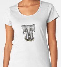 Elefante Gris Women's Premium T-Shirt