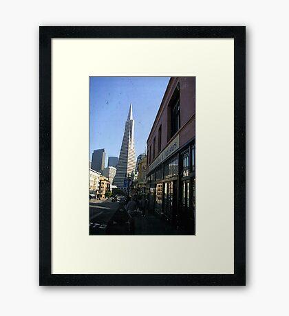 North Beach,San Francisco Framed Print