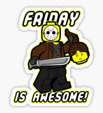 Friday is Awesome! Sticker