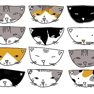 Twelve cats by sarknoem