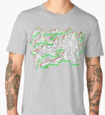 Go with the flow Men's Premium T-Shirt