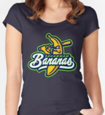 savannah bananas Women's Fitted Scoop T-Shirt