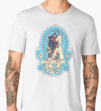 Bigfoot's Big Day - Wedding of Sasquatch & Unicorn Men's Premium T-Shirt