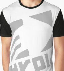 Zink White Deca Logo Tee Graphic T-Shirt