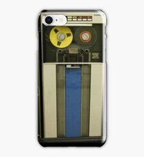 Retro Technology Magnetic Tape Drive iPhone Case/Skin