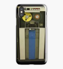 Retro Technology Magnetic Tape Drive iPhone Case