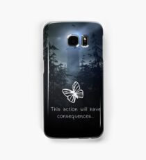 Life is strange - This action will have consequences Samsung Galaxy Case/Skin