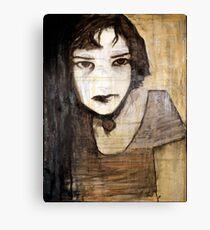 portrait of the assassin Canvas Print