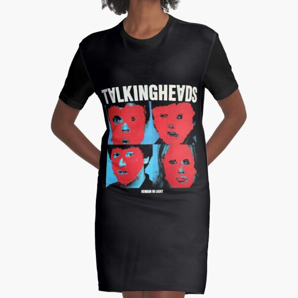 Talking Heads - Remain in Light Graphic T-Shirt Dress
