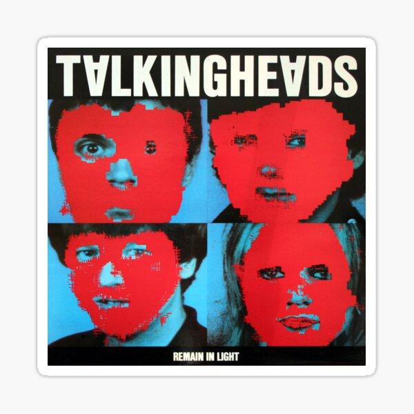 Talking Heads - Remain in Light Sticker