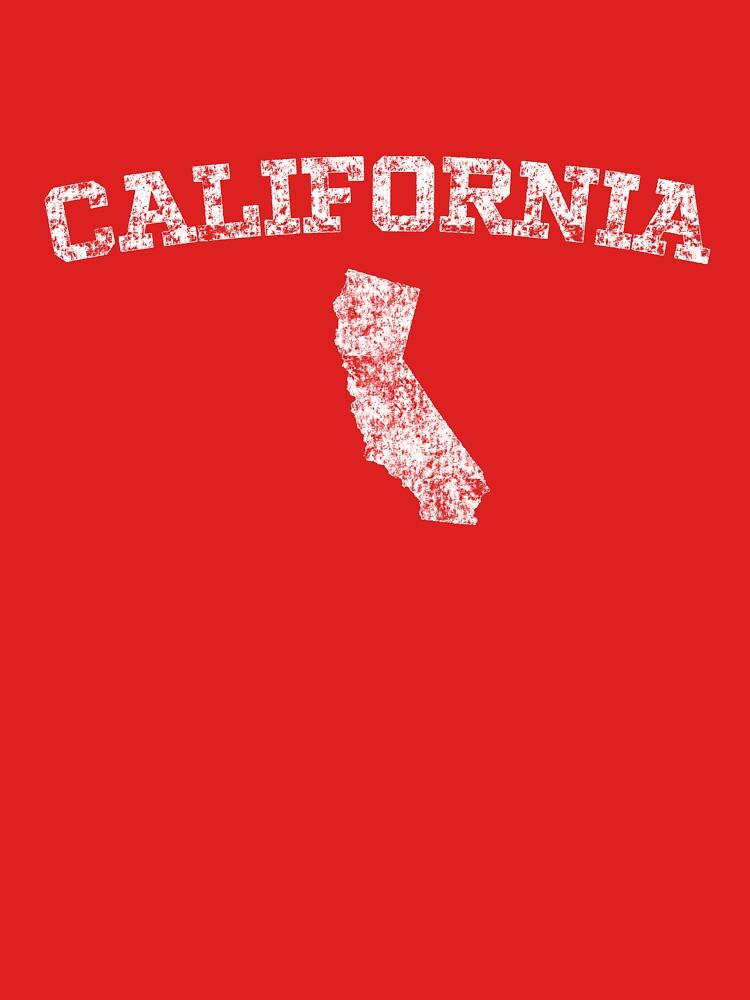 Retro & Vintage California States Shape by Chocodole