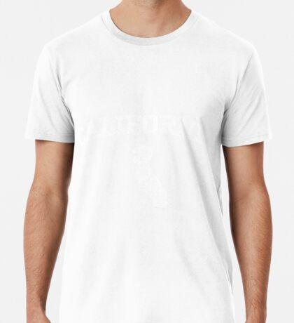 Retro & Vintage California States Shape Premium T-Shirt