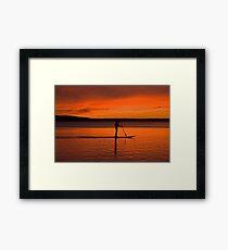 Northport Bay Framed Print