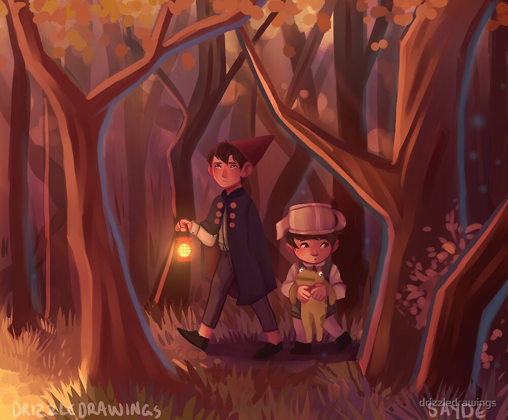 over the garden wall by drizzledrawings