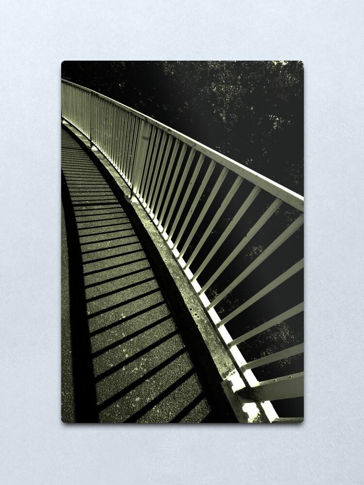 Alternate view of Footbridge Metal Print