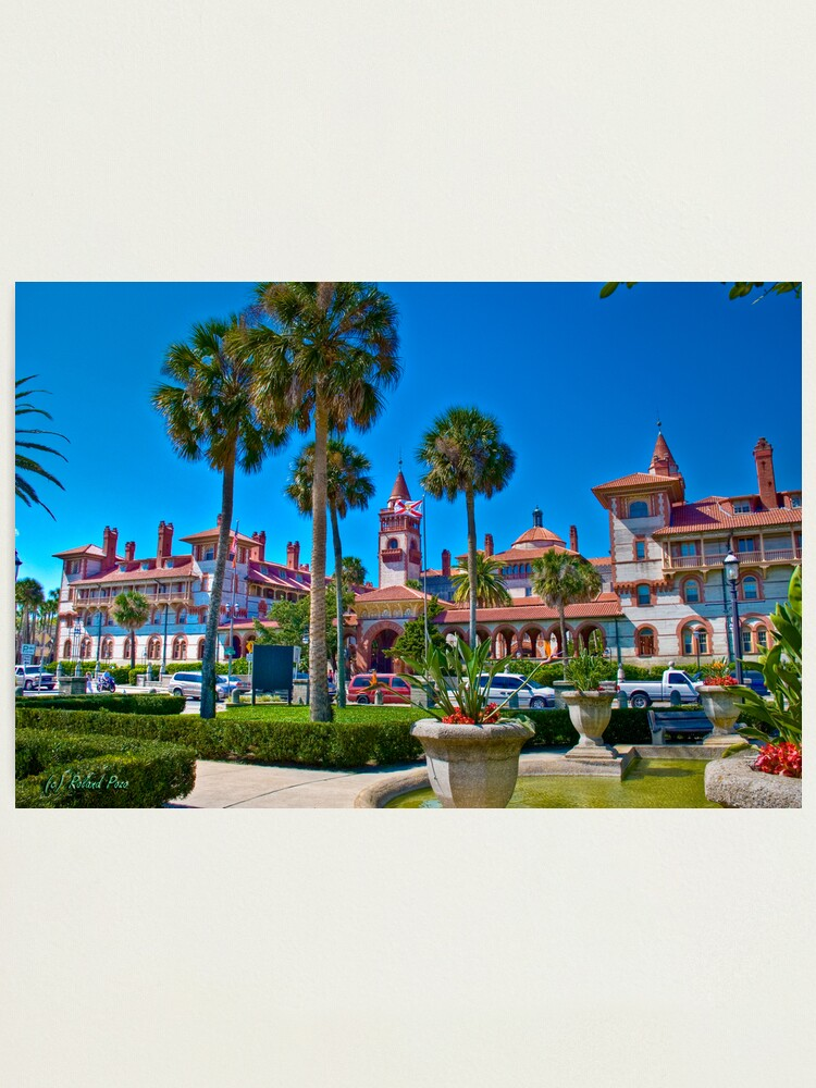 Alternate view of Flagler College Photographic Print