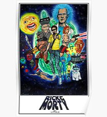 RICK AND MORTY FAN ART Poster