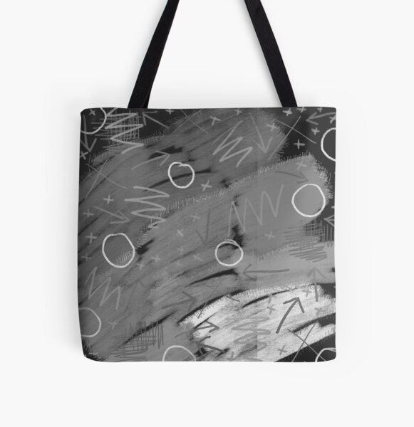 80s infused all washed out All Over Print Tote Bag