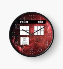 Through Time and Space Clock