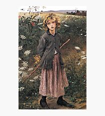 Young Girl 1881 Jules Bastien-Lepage Photographic Print