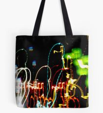 Light Painting Hotel Tote Bag