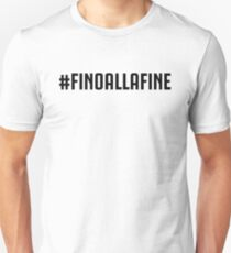 #FINOALLAFINE white T-Shirt