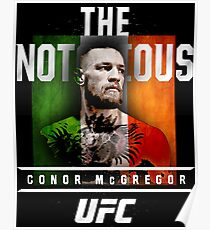 ufc fighter Poster