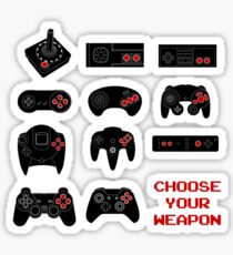 Choose Your Weapons : Game Systems Sticker
