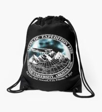 Miskatonic University Antarctic Expedition : Inspired by At The Mountains of Madness Drawstring Bag
