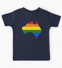 Australia LGBTQ Equality Rainbow Flag Kids Clothes