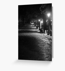 Road to Cathedral Greeting Card