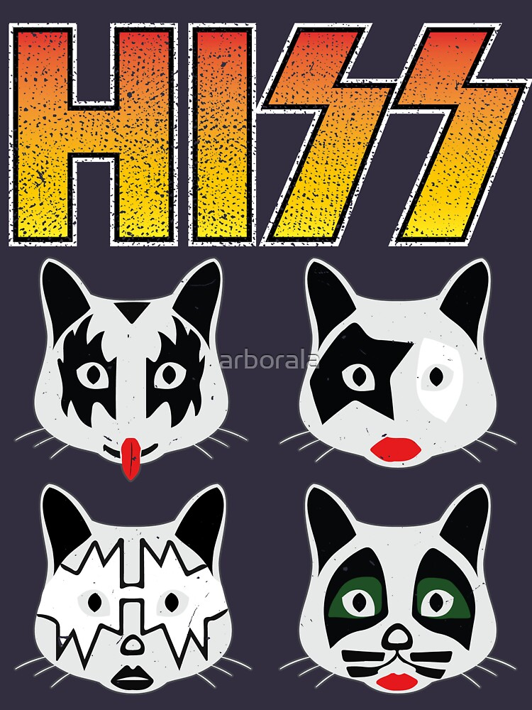 Hiss Kiss - Cats Rock Band de NinjaDesignInc