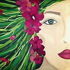 Flowers in my hair by Sybille Sterk