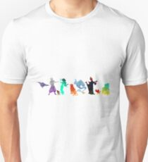 Characters Inspired Silhouette T-Shirt