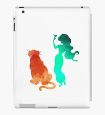 Princess and tiger Inspired Silhouette iPad Case/Skin