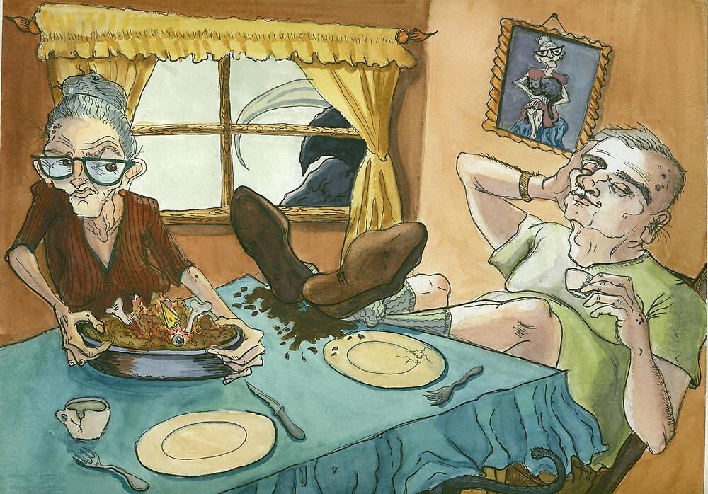 Dinner Surprise! by kristenterrana