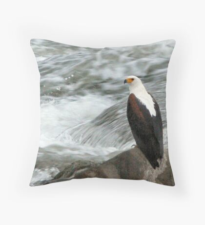Gone fishing... Throw Pillow