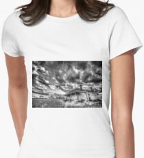 The clouds roll in Women's Fitted T-Shirt