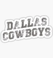 DALLAS COWBOY BLACK TSHIRT Sticker