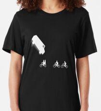 Stranger Things Car Flip Slim Fit T-Shirt